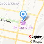 Белгородская государственная филармония на карте Белгорода