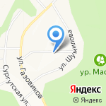 ОК на карте Белгорода