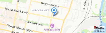 Магазин сантехники и хозтоваров на карте Белгорода