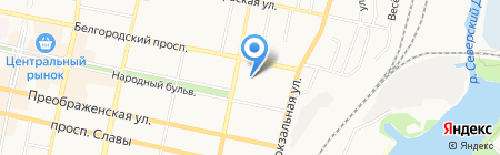 Детский сад №12 на карте Белгорода