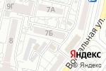 Схема проезда до компании Уголок красоты в Белгороде