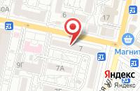 Схема проезда до компании Краски Мира в Белгороде