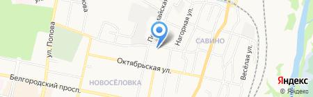 ТИСАЙД на карте Белгорода