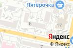 Схема проезда до компании Точка Мира в Белгороде