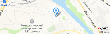 Центр детского-юношеского туризма и экскурсий г. Белгорода на карте Белгорода