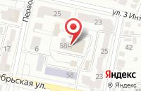 Схема проезда до компании Муниципальная стража в Белгороде