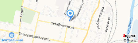 Дежурная часть батальона патрульно-постовой службы на карте Белгорода