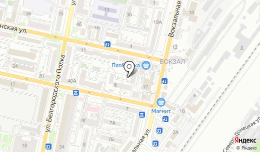 Медицинский центр лечения зависимостей. Схема проезда в Белгороде