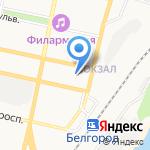 Медицинский центр лечения зависимостей на карте Белгорода