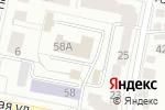 Схема проезда до компании Центральный управляющий пункт автоматизированной системы управления дорожным движением в Белгороде