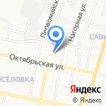 Муниципальная стража на карте Белгорода