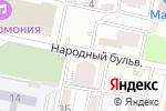 Схема проезда до компании Прованс в Белгороде