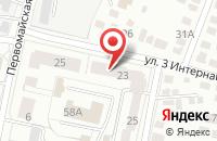 Схема проезда до компании Белогорье в Белгороде