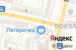 Схема проезда до компании Каскад Плюс в Белгороде