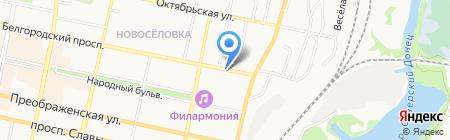 Сельский дворик на карте Белгорода