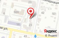 Схема проезда до компании Аргос в Белгороде
