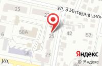 Схема проезда до компании Домус в Белгороде
