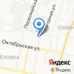 Спецохрана на карте Белгорода