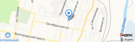 Централизованная Охрана на карте Белгорода