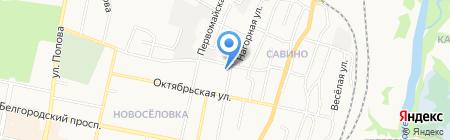 Домус на карте Белгорода