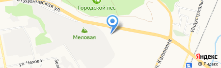 М Стиль на карте Белгорода