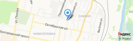 Берегиня на карте Белгорода