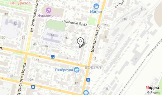 Контур. Схема проезда в Белгороде