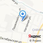 Лимузины007 на карте Белгорода