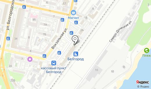 Белый Замок. Схема проезда в Белгороде