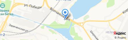 Tennis Markt на карте Белгорода