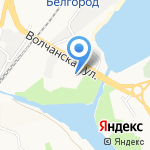 Белгородская Академия Тенниса на карте Белгорода