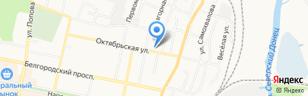 Стеклодизайн на карте Белгорода
