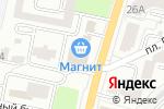 Схема проезда до компании Garage в Белгороде