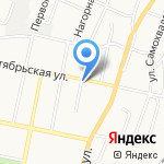 Мой Мастер на карте Белгорода