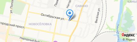 Магистраль на карте Белгорода