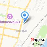 Золотой лев на карте Белгорода