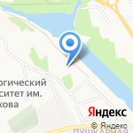 Донецкие Сады на карте Белгорода