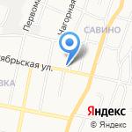 Август на карте Белгорода