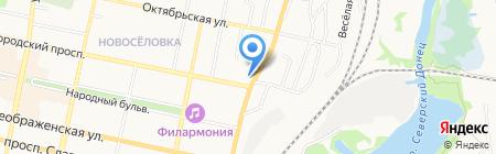 Совет ветеранов Восточного округа г. Белгорода на карте Белгорода