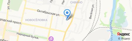 Церковь евангельских христиан-баптистов на карте Белгорода
