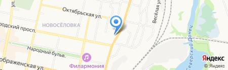 БелТакси на карте Белгорода