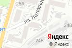 Схема проезда до компании Удача в Белгороде
