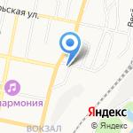Электротэн на карте Белгорода