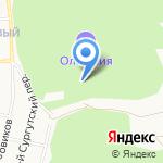 Олимпия на карте Белгорода