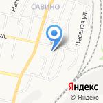Савинский на карте Белгорода
