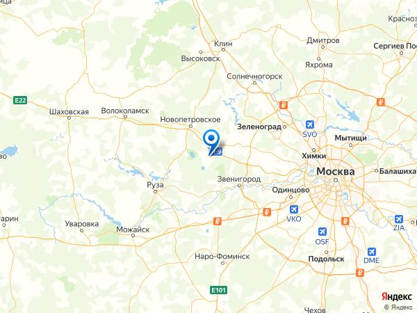 садовое товарищество Мансурово на карте