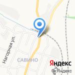 Алла на карте Белгорода