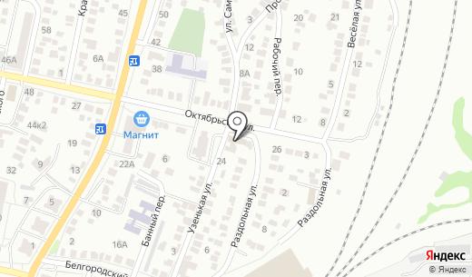 Савинский. Схема проезда в Белгороде