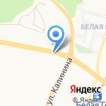 ХАДО на карте Белгорода