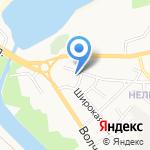 Бисер на карте Белгорода